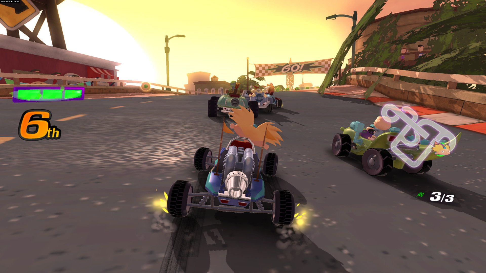 Nickelodeon Kart Racers PS4, XONE, Switch Gry Screen 10/12, GameMill Entertainment