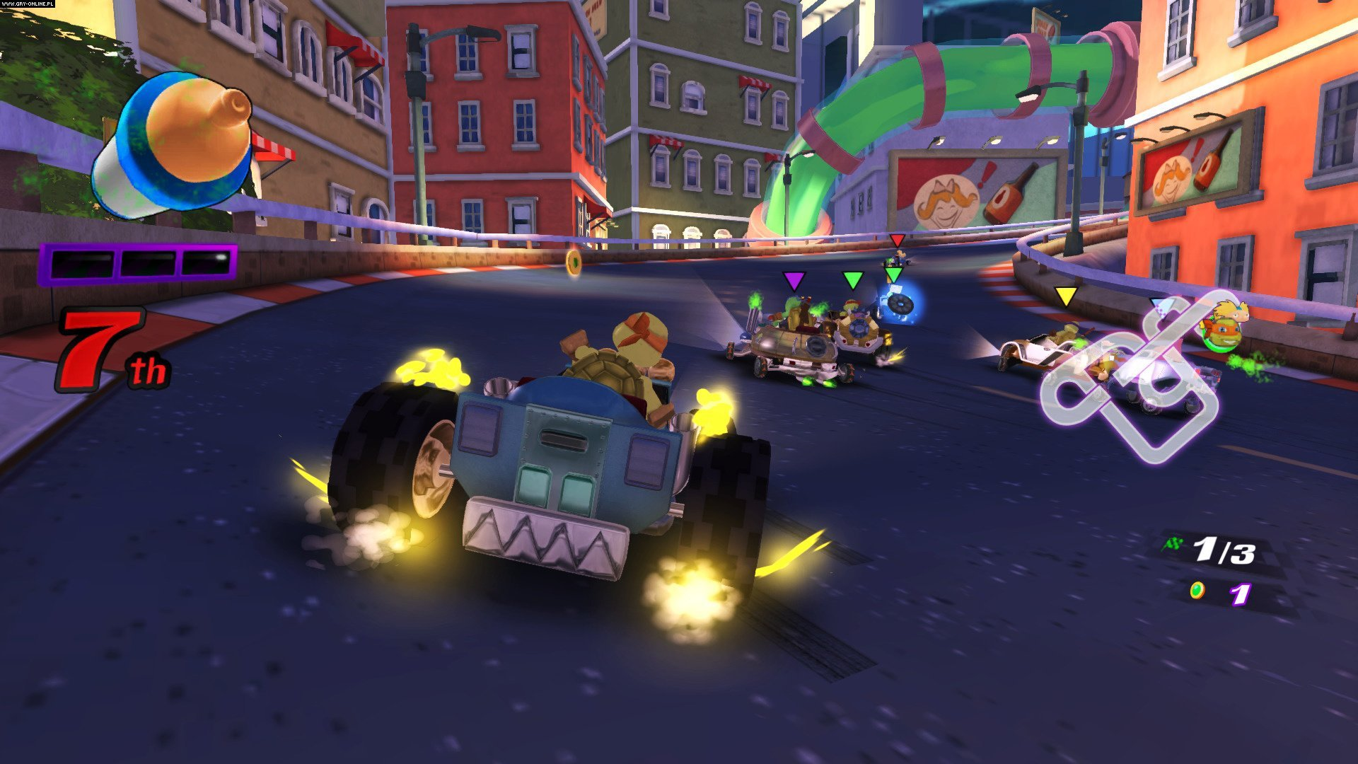 Nickelodeon Kart Racers PS4, XONE, Switch Gry Screen 9/12, GameMill Entertainment