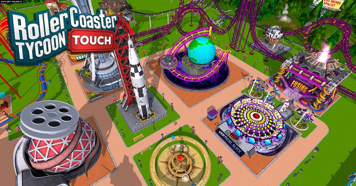 RollerCoaster Tycoon Touch - screenshots gallery