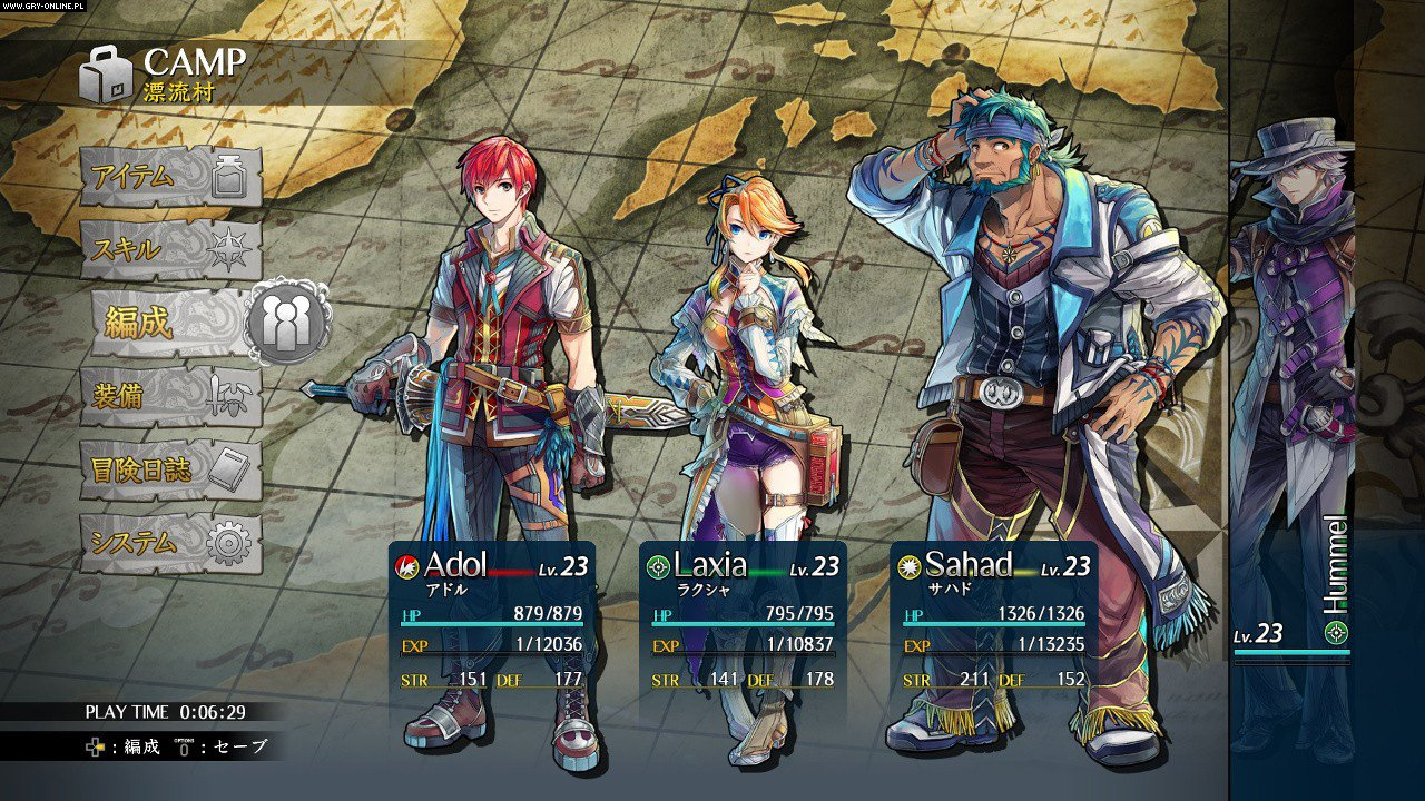 Ys VIII: Lacrimosa of Dana PC, PSV, PS4, Switch Gry Screen 8/49, Nihon Falcom Corp, NIS America