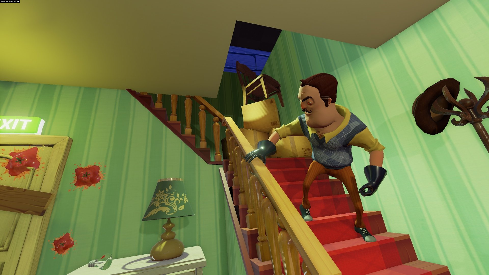 Hello Neighbor PC, PS4, XONE, AND, iOS, Switch Gry Screen 5/6, Dynamic Pixels, tinyBuild Games