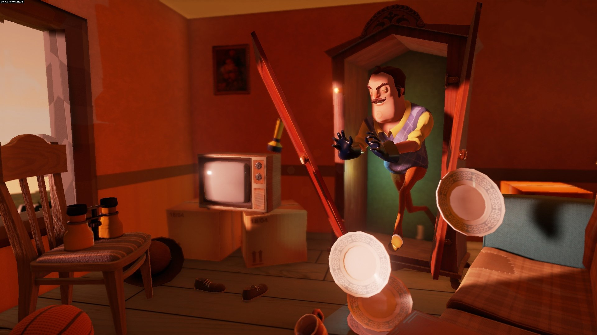 Hello Neighbor PC, PS4, XONE, AND, iOS, Switch Gry Screen 1/6, Dynamic Pixels, tinyBuild Games