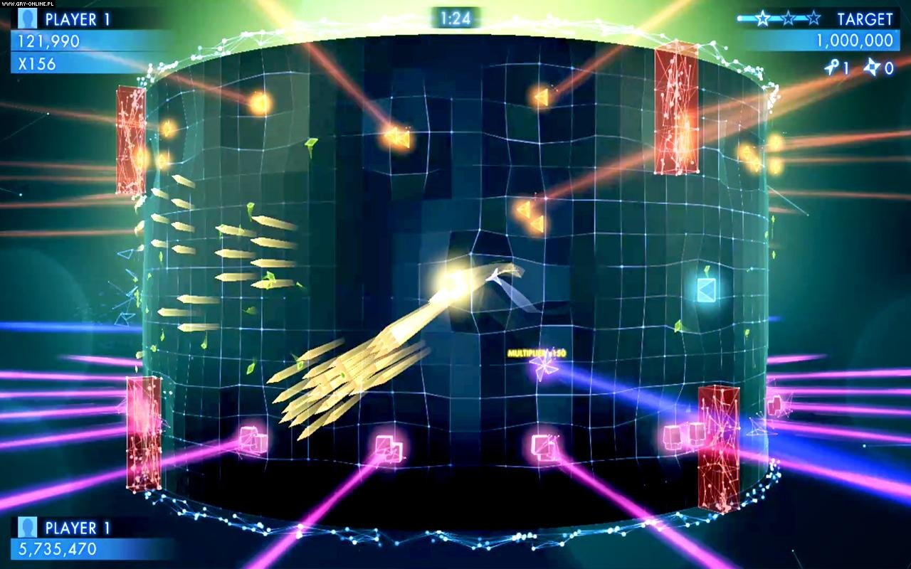 Geometry Wars 3: Dimensions Evolved AND, iOS Gry Screen 4/26, Lucid Games, Sierra