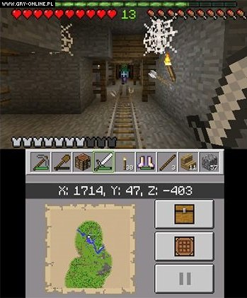 Minecraft 3DS Gry Screen 5/64, Mojang AB
