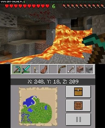 Minecraft 3DS Gry Screen 3/64, Mojang AB