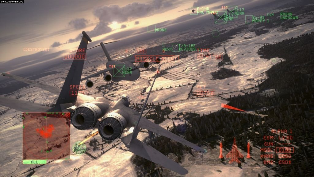 Ace Combat 6: Fires of Liberation - screenshots gallery