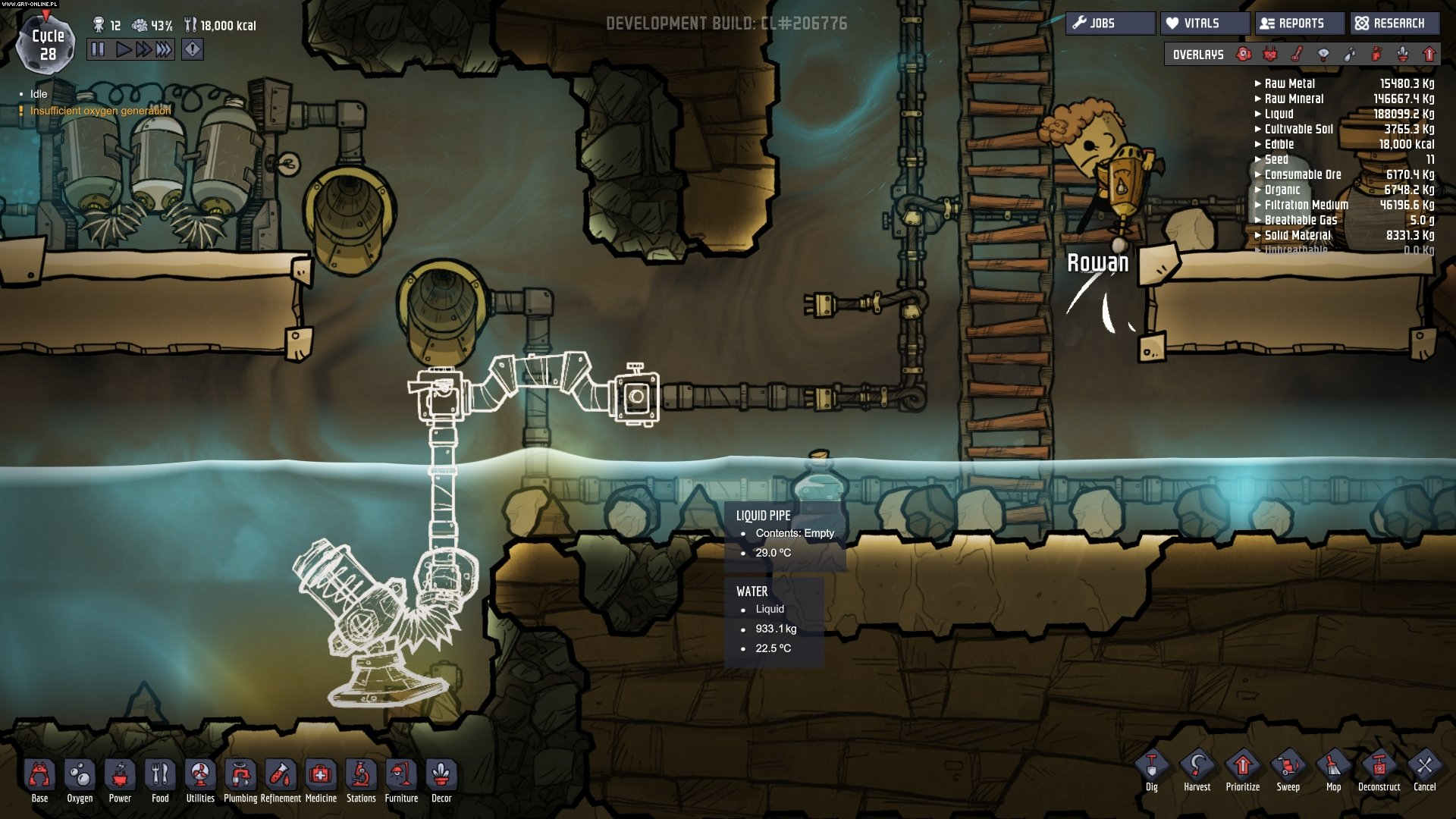 Oxygen Not Included PC Gry Screen 19/36, Klei Entertainment