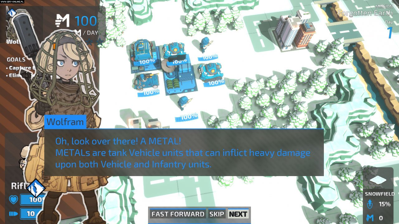 Tiny Metal: Full Metal Rumble PC, Switch Games Image 4/8, Area 35