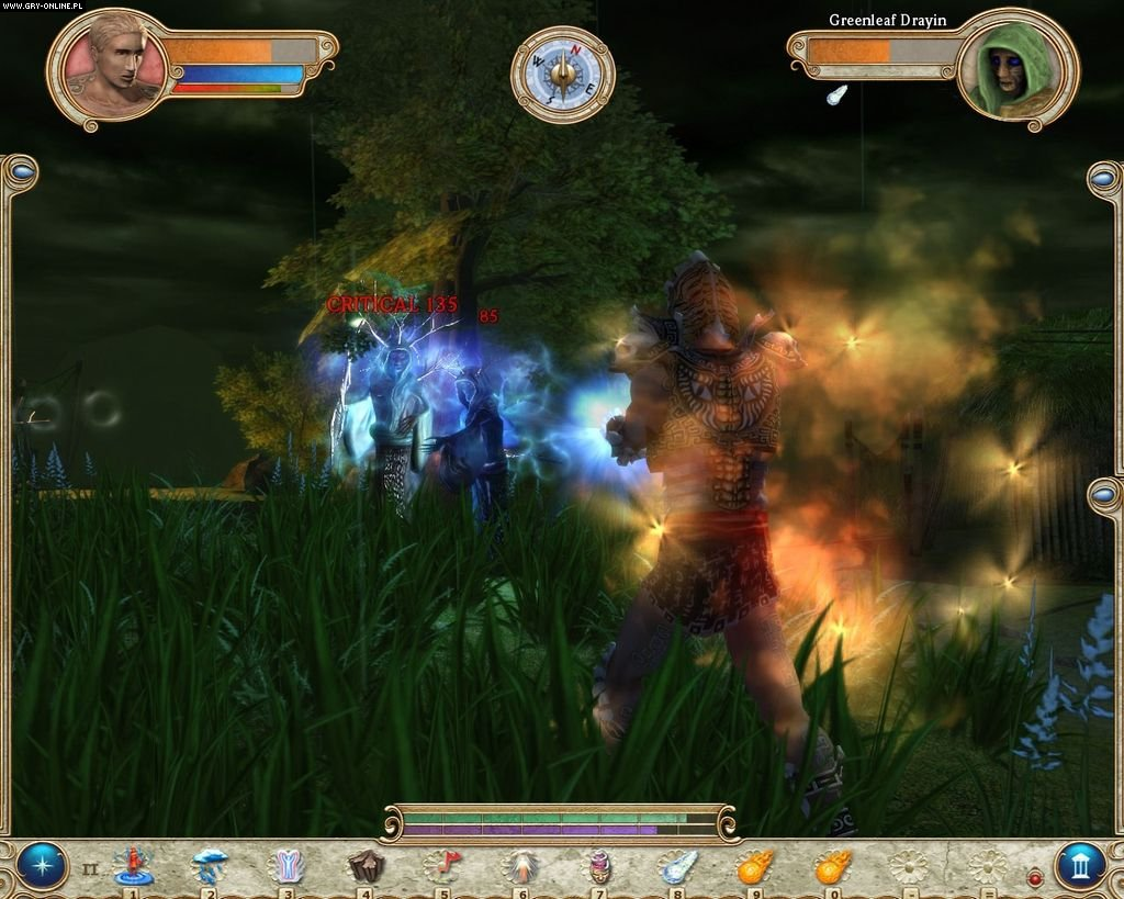 Numen: Contest of Heroes PC Gry Screen 1/57, Cinematix Studios, Akella